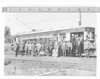 Central Electric Railfans Association fantrip. 7/14/1940.<br /> CERA Des Moines Ry <br /> Car #702 at the Urbandale Loop