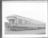 STRATES SHOWS #1 Car - Elizabeth. Wooden Pullman observation car. <br /> Undated photo. No location.