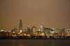 August 29, 2008 Chicago Skyline at night. We went out on a dinner cruise last night for work.  Grabbed this shot from the boat 1/4 second handheld