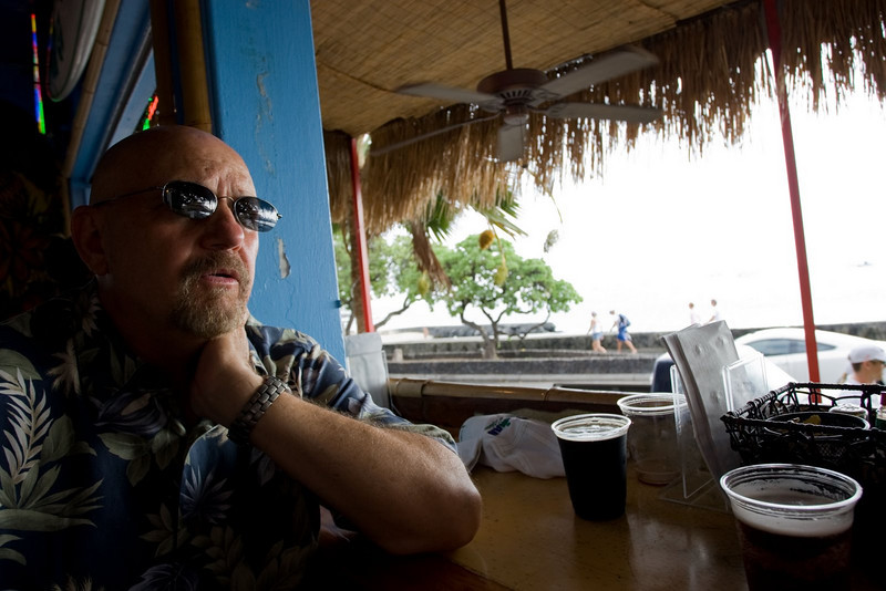 Big D & some beers - testing the dynamic range of my camera