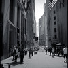 "17Jul08  wall st viewed from broadway.  <a href=""http://carpelumen.smugmug.com/gallery/3079614_g82z8/2/174233910_VGpQK/Medium"">one year ago.</a>  f/7.1, 1/800s, iso 200."