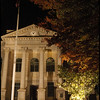 """(24Sep08)  dekalb county courthouse, from the square.  <a href=""""http://carpelumen.smugmug.com/gallery/3406632_R6yKT/2/200100452_YyfUr/Medium"""">one year ago.</a>  f/4, 1/20s, iso 1250."""