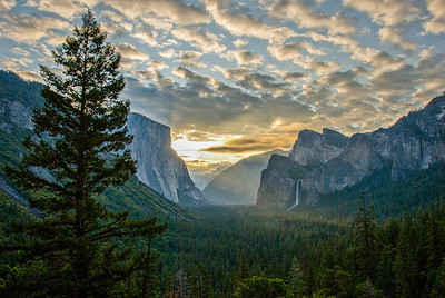 yosemite valley overlook-2