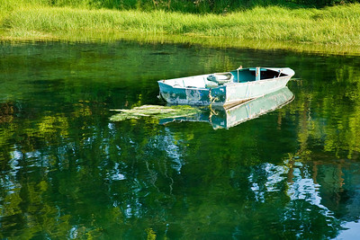 August 24, 2009 Boat on Green