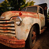 "June 2, 2009<br /> Rusty Golden Years.<br /> I found this old Chevy in a driveway while walking not far from my home. I've never felt attraction to old clunkers. But lately I do want to take pictures of older rusty cars. I made photo of another oldish Chevy earlier this year:   <a href=""http://arsky.smugmug.com/gallery/6692574_aAGLD#448447410_UPqgX"">http://arsky.smugmug.com/gallery/6692574_aAGLD#448447410_UPqgX</a><br /> <br /> Thanks, for all your nice comments on yeserday Katrina portrait."