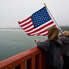 May 21, 2009:<br /> Young Patriots on the Golden Gate Bridge.<br /> (I took this photo two days ago at Golden Gate Bridge in San Francisco.)
