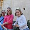 On mission to Carmel mission (Настя, Катя и подружка Катя)