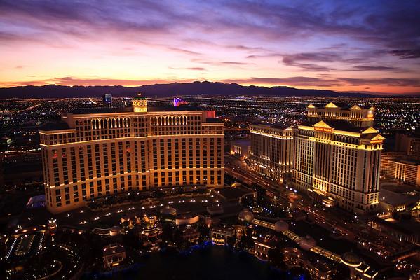 September 20, 2009 Las Vegas after sunset