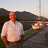August 23, 2009<br /> We really enjoyed our stay in Tofino. We took a number of good photographs. Natalie made my portrait in Tofino harbor (at sunset) that I like.