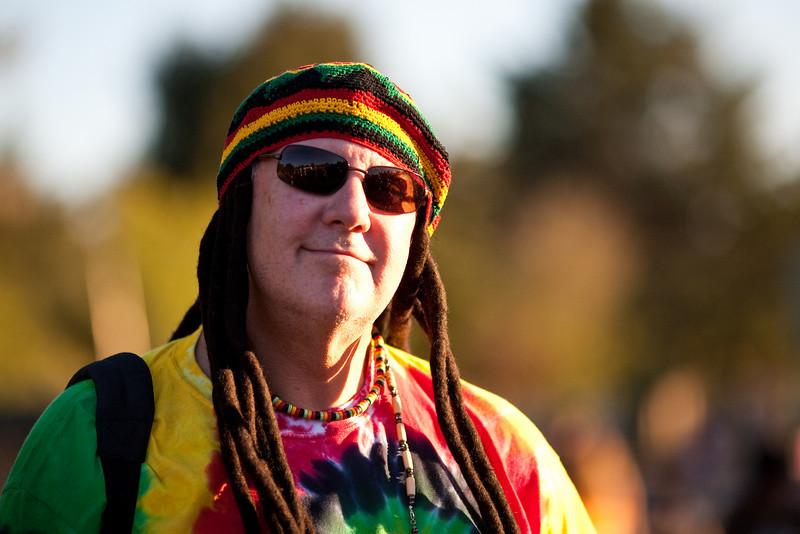 October 31, 2009<br /> Portrait of stranger at Halloween celebration at school