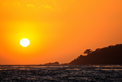June 20, 2009 Sunset at Carmel-by-the-Sea