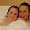 Portrait in Bubble Bath