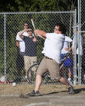 Casey Jones at bat.
