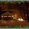 December 21 2009 Our house<br /> <br /> Wishing all of your a Merry Christmas and a Happy New Year.  10 second shot of our house at night, dressed up using picnik.