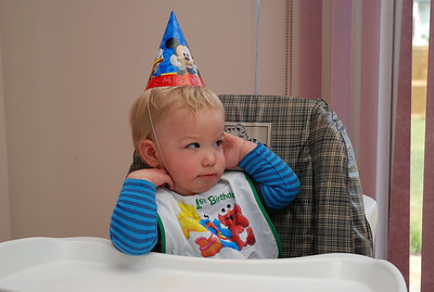 Will's 1st Birthday Party