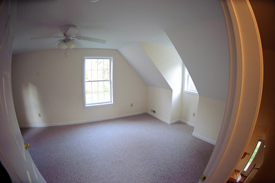 top of stairs looking into 2nd bedroom