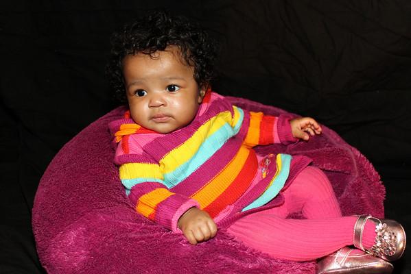 Welcome Baby Saniyah, Tashsa and Kevian Holiday Shoot