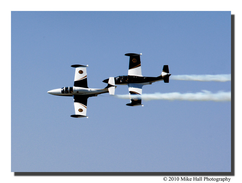 """""""Team MS760""""<br /> Brand new team flying for the first time this year. These are 4 seat twin engine personal jet aircraft."""