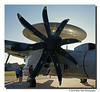 """E-2C Hawkeye""<br /> One of the incredible 8 blade props on the US Navy E-2C Hawkeye."