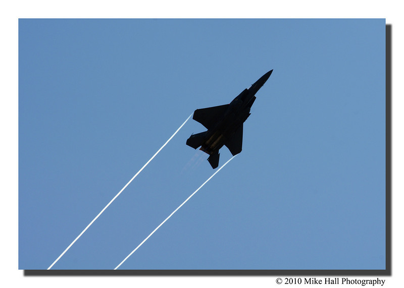 """Up, Up & Away""<br /> The Strike Eagle was truly an awe inspiring sight to see."