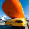 Weiner mobile spotted by the Rock Hall