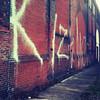 Odd grafitti in CLE-  iPhone