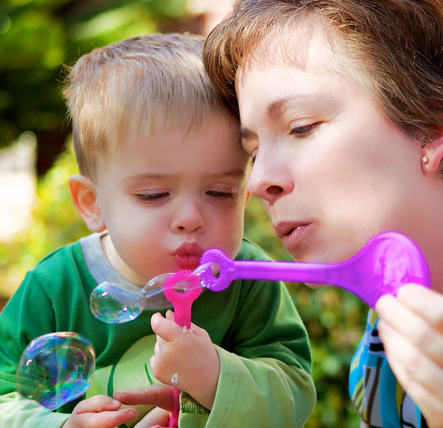 February, 2010<br /> <br /> My neighbor and her little boy.