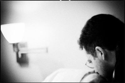 January, 2010.  One last kiss. With my sweet Mom in hospice.