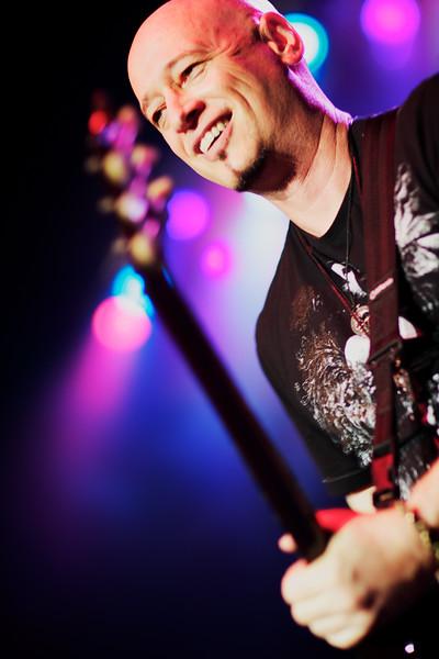 May, 2010<br /> <br /> Train guitarist Jimmy Stafford.