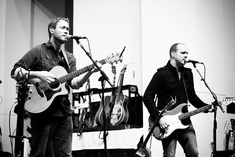 Andrew Peterson and Andy Osenga.