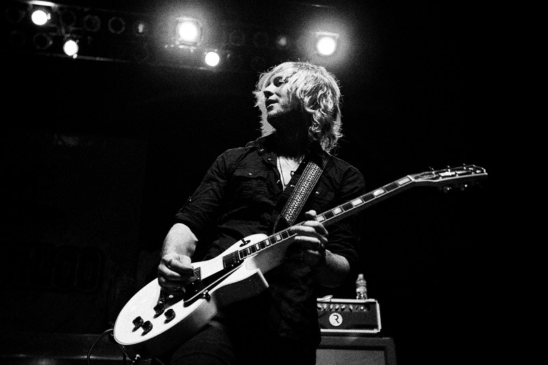 May, 2010<br /> <br /> Jamey Ice of GRO during their concert at The House of Blues in Houston, TX.