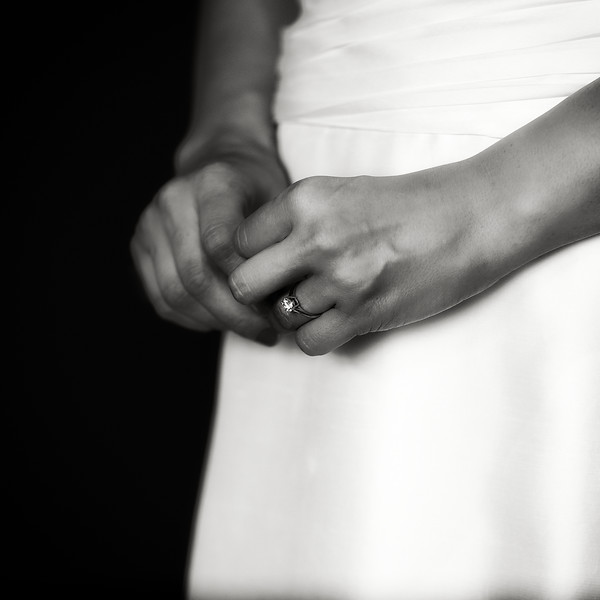 April, 2010<br /> <br /> Anticipation. A bride waits before the ceremony.