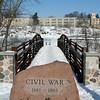 {19/365} January 19<br /> <br /> Bridge at the Veteran's Memorial River Walk in Delafield, Wisconsin.
