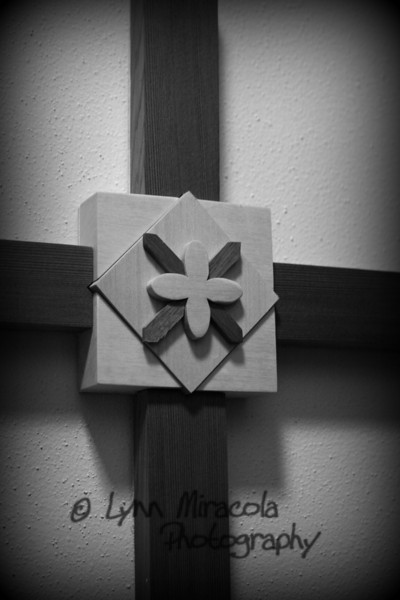 {1/365} January 1<br /> This is a handmade cross we have hanging in our hallway.  I'm pretty sure it was given to us by my grandmother.