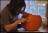 "30Oct10  halloween preparations.  <a href=""http://carpelumen.smugmug.com/Photography/2009/October09/9832432_QGQQM/1/698790130_SnHe6/Medium"">one year ago.</a>  f/5.6, 1/30s, iso 1600."