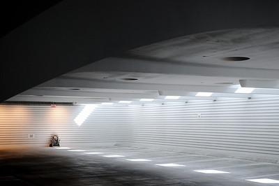 Milwaukee Art Museum, garage.