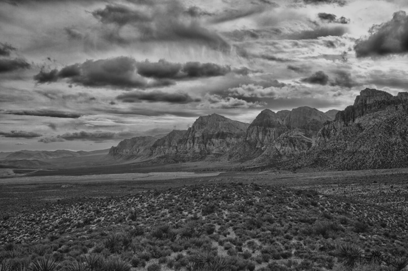 Red Rock, NV (12/31/2011)<br /> On the day we decided to drive out to the desert it was cold and raining...what are the chances?<br /> I hope you have a Happy and Safe New Years celebration.<br /> -Bob