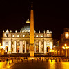 Saint Peter's Square at Night<br /> <br /> November 12, 2011