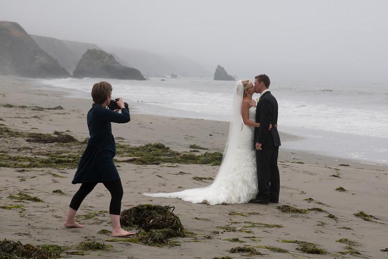 Photographer at work (Bodega Bay, CA)<br /> <br /> November 3, 2011