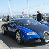 Bugatti Veyron : Nice Car, It reachs 60 mph in 2.6 seconds, it can reach 124 mph in 7.3 sec. and 186 mph in 16.7 seconds, making it the quickest-accelerating production car in history. The top speed of Bugatti Veyron is 253.2 miles per hour. Approx. $1,700,000 This Photo was taken in Geneva (you can see their famous water jet in the background)