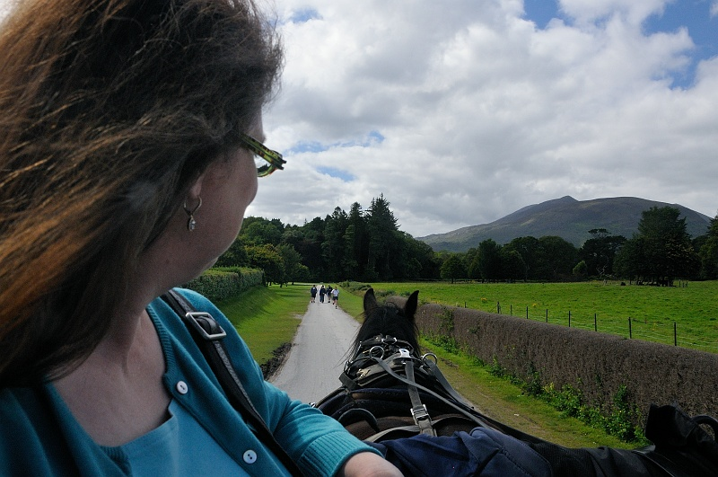 8 Sept: Our Jarvey ride to Torc waterfall in Killarney National Park