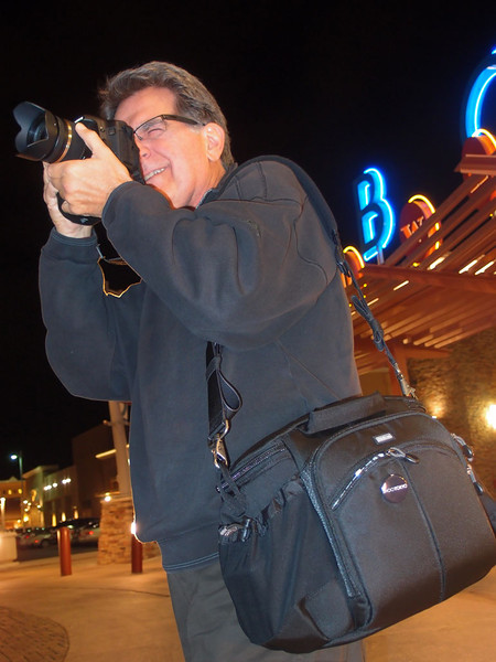 10/25/11: Night shooting in ABQ with Think Tank's Speed Demon bag