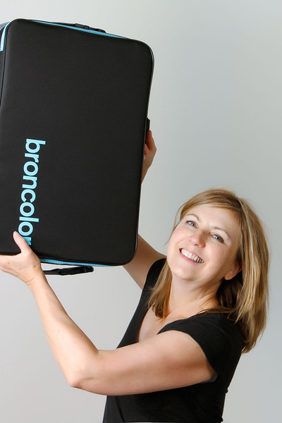 6/23/11: Testing Broncolor SensoKit 22 system. That's the case the lights come in; it's empty.