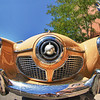 7/31/1: HDR image of Bullet-nosed Studebaker at Orphan Car Show in Golden, CO