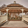 3/30/11: O'Brien Park Gazebo on a dark and cloudy day.