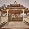 3/30/11: O'Brien Park Gazebo on a dark and cloudy day.
