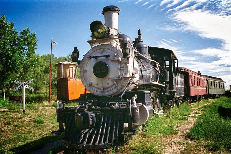 4/7/11: The second in my Colorado Scenes Series: Colorado Railroad Museum in Golden, CO