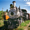 4/7/11: The second in my Colorado Scenes Series: Colorado Railroad Museum in Golden, CO