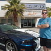7/5/11: Joe at Shelby American in Nevada (and no, that's not his car--he wished it was.)