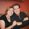 5/21/11: Mary & Joe at Joe's surprise birthday dinner. Photo by Paul Peregrine.